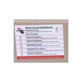 Nátrium-molibdenát 12 gr.