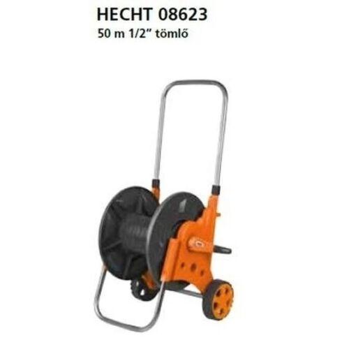 """HECHT 08623- Tömlőkocsi 1/2"""" 50m (tömlő nélkül)"""