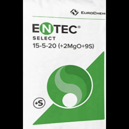 Entec Select (15:5:20+2MgO+8S) 25kg