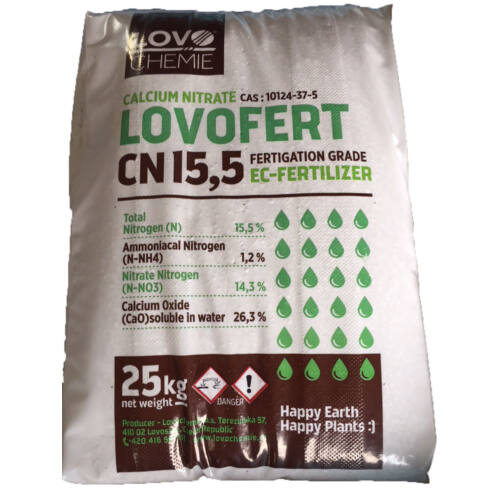 Calcium-nitrát (Cseh) 25kg