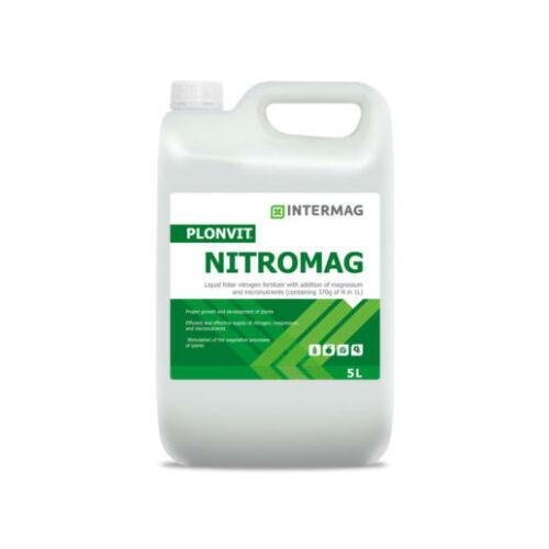 Plonvit NITROMAG  27,5%N+3%MgO+micro (Intermag)  5 L