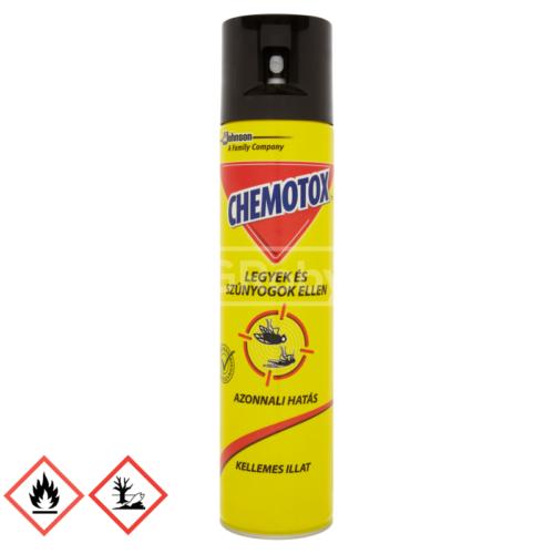 CHEMOTOX 400ML SZÚNYOGOK ÉS LEGYEK ELLEN AEROSOL ( SPRAY )