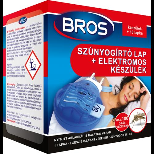 Bros Szúnyogirtó elektromos készülék +10 db lapka 12/#