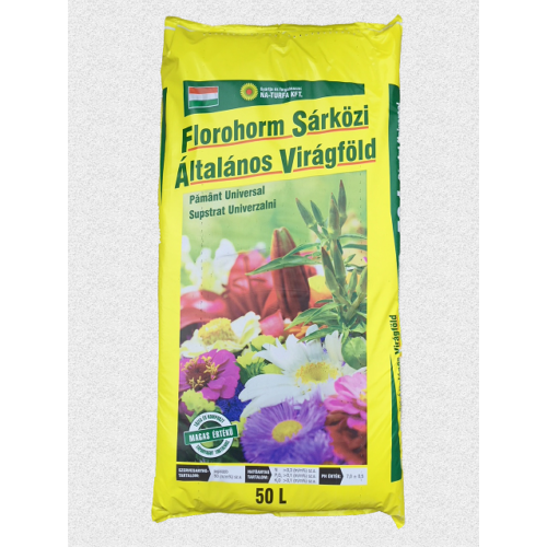 Virágföld Florohorm általános 50L   Fix áras!